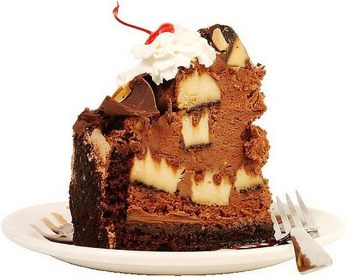 Banana Chocolate Fudge Cake
